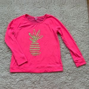 Neon pink Lilly Pulitzer sweater